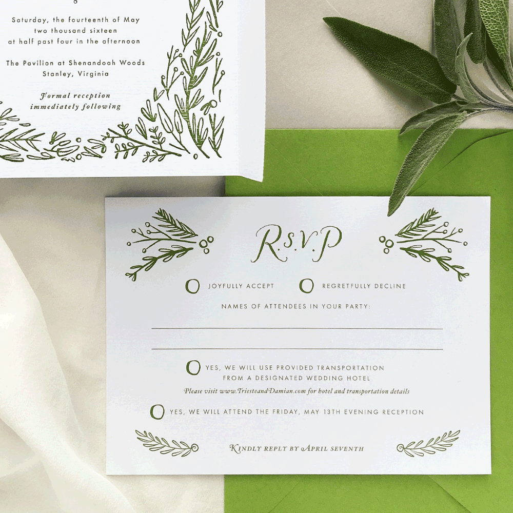 Wedding Invitations & Stationery | Dejlige Creative
